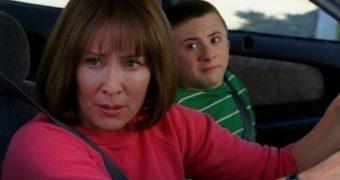 Patricia Heaton:  the Middle - bad carpool