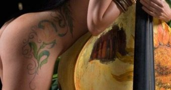 Lea Dali Lion nude Estonian singer (RIP)