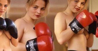 Regina Halmich nude German boxer and kickboxer